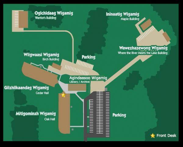 LLTC Campus Map