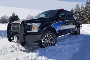 Leech Lake Police Truck