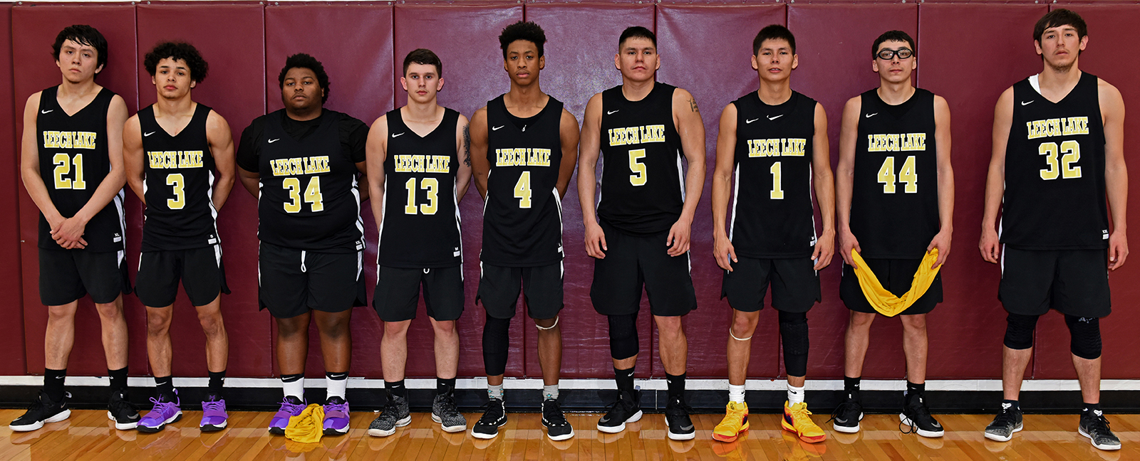 Basketball team - Leech Lake Lakers
