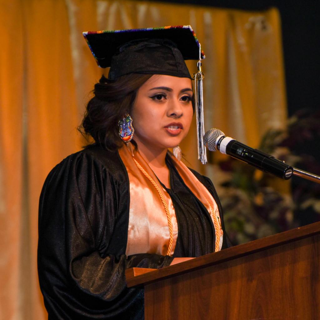 LLTC Valedictorian - Valerie