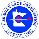 1855 Mille Lacs Reservation logo