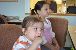 Children enjoying their time at Parent Study Group.