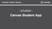 Canvas - Student App