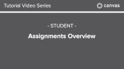 Canvas - Assignments View